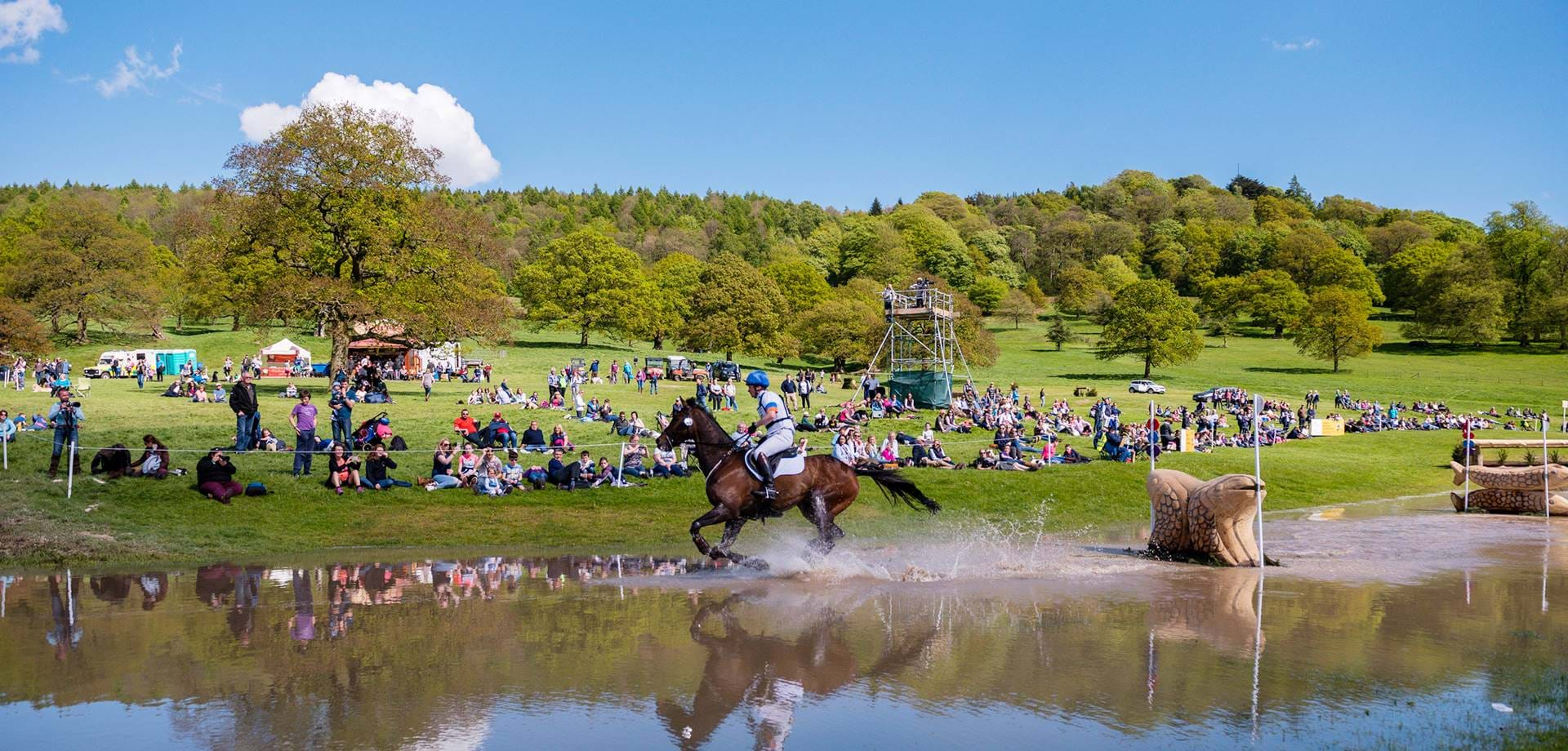 World's top riders flock to Chatsworth