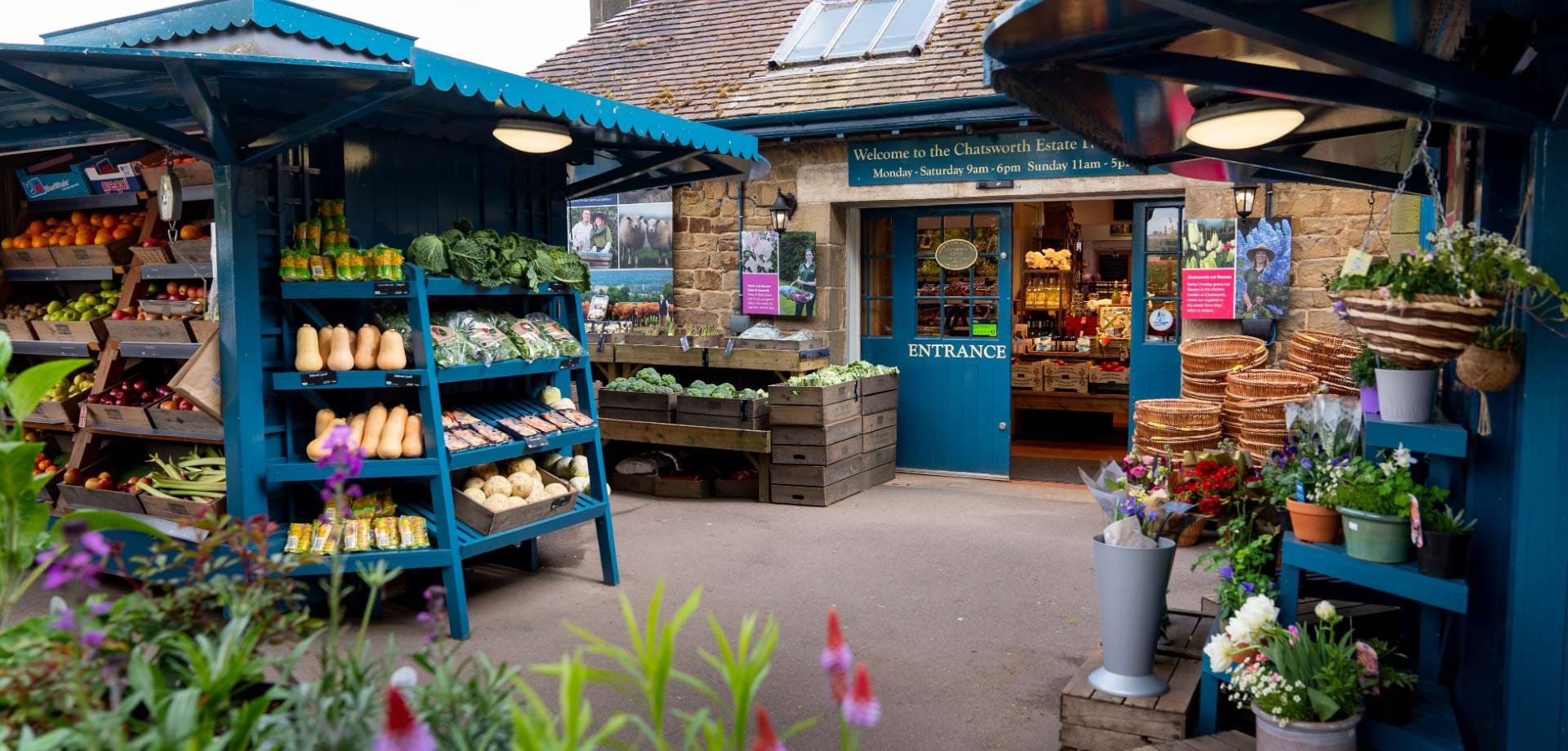 A brief history of the estate farm shop