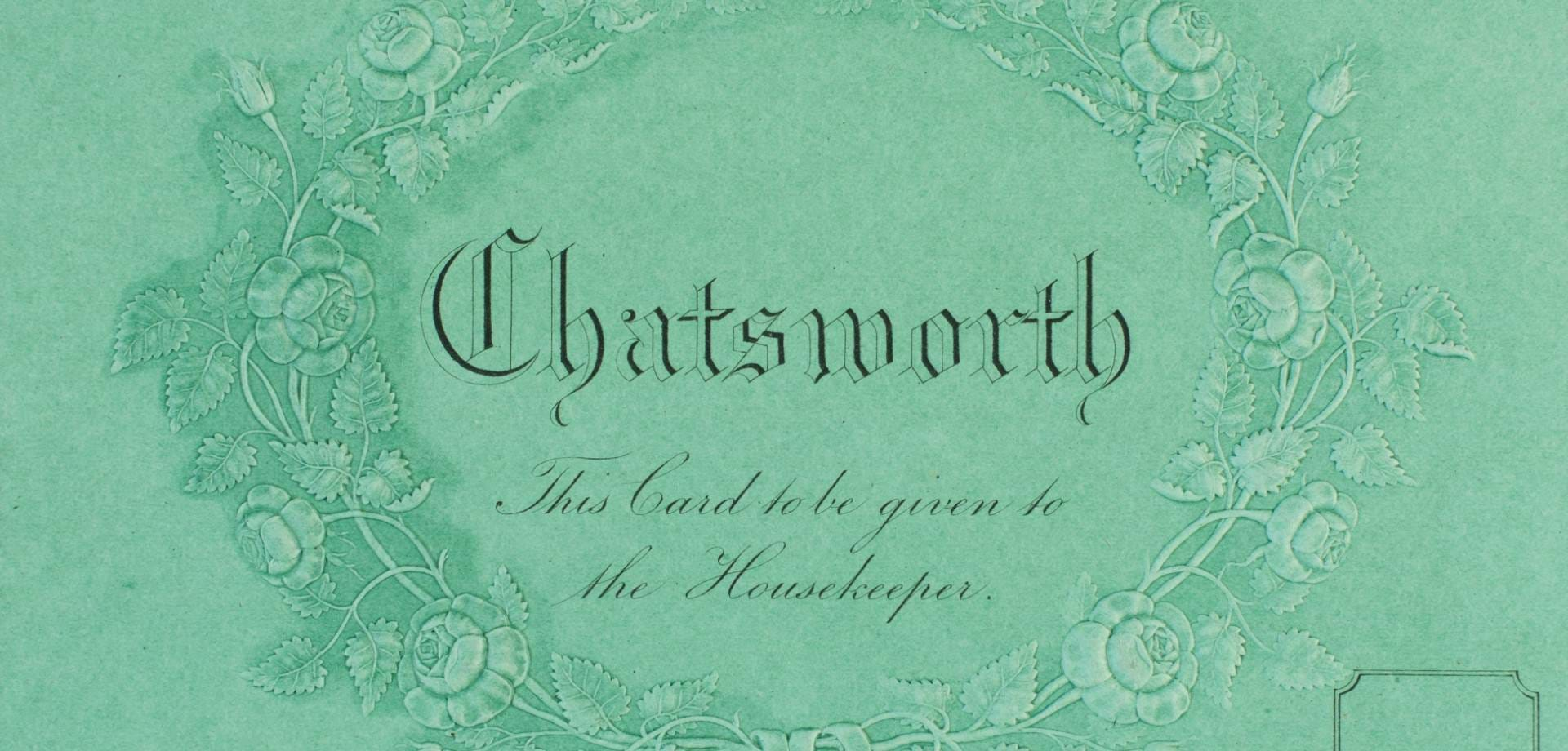 Elizabeth Gaskell's visit to Chatsworth in 1857