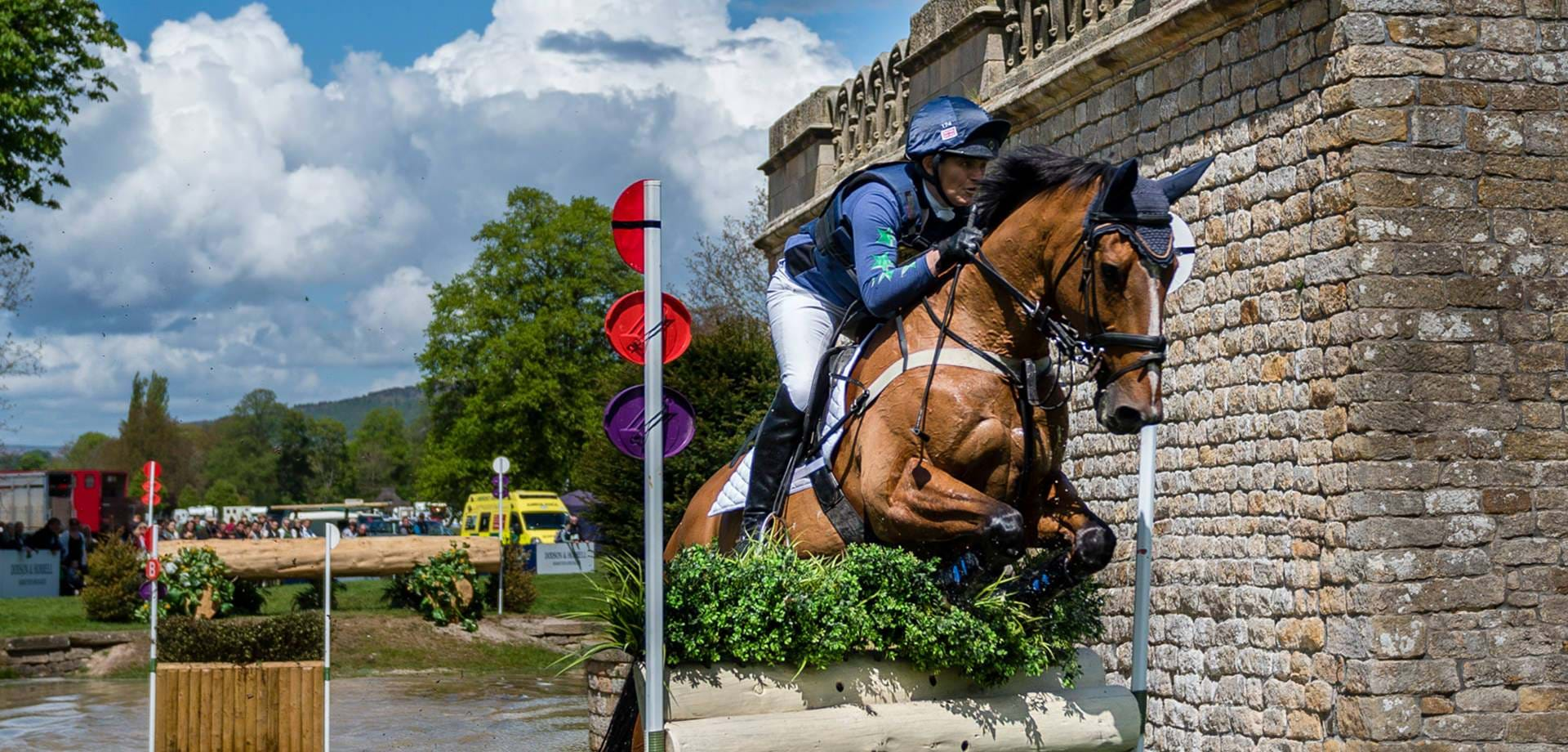 Bumper year for the horse trials
