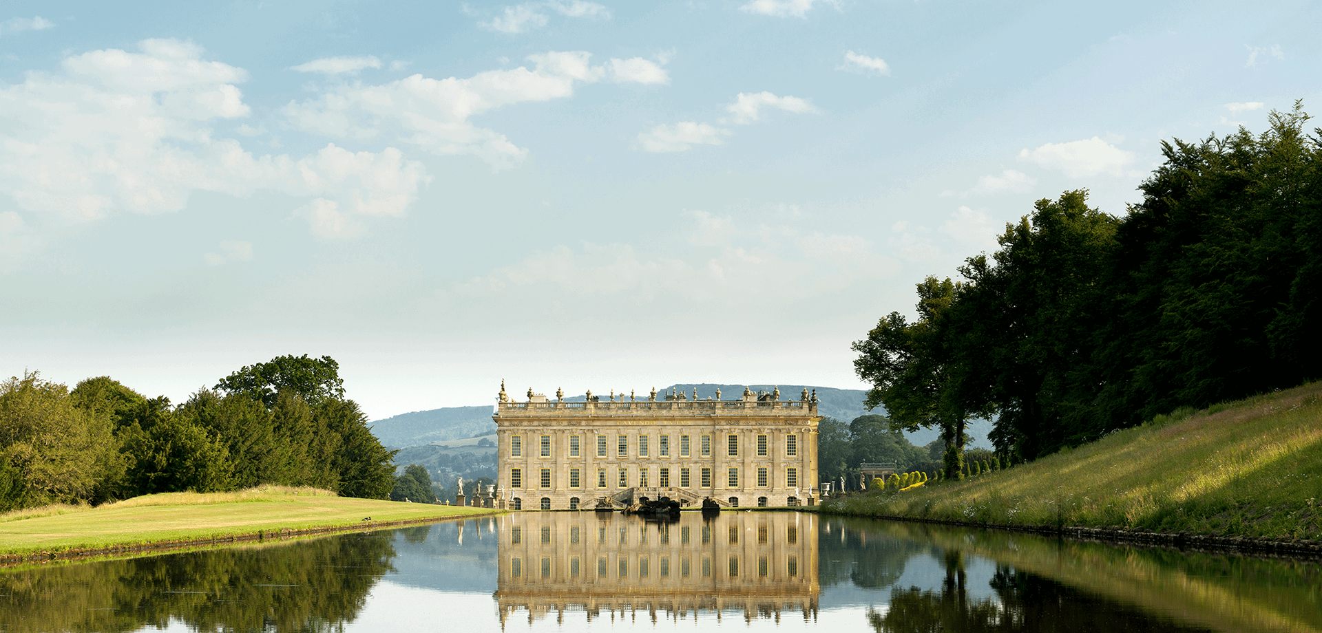 A warm welcome at Chatsworth