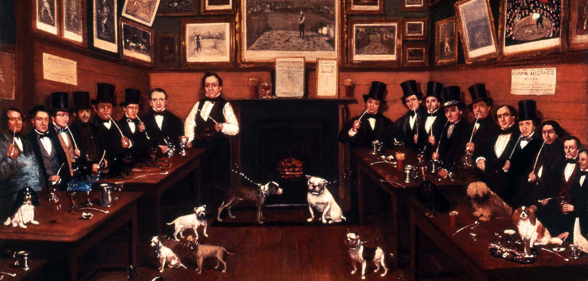 An Early Canine Meeting, R Marhsall, 1855