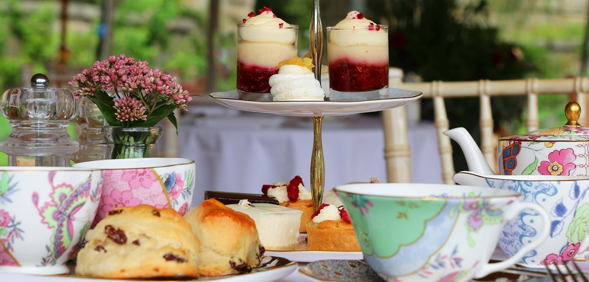 Chatsworth Al Fresco Afternoon Tea  Launched For Summer