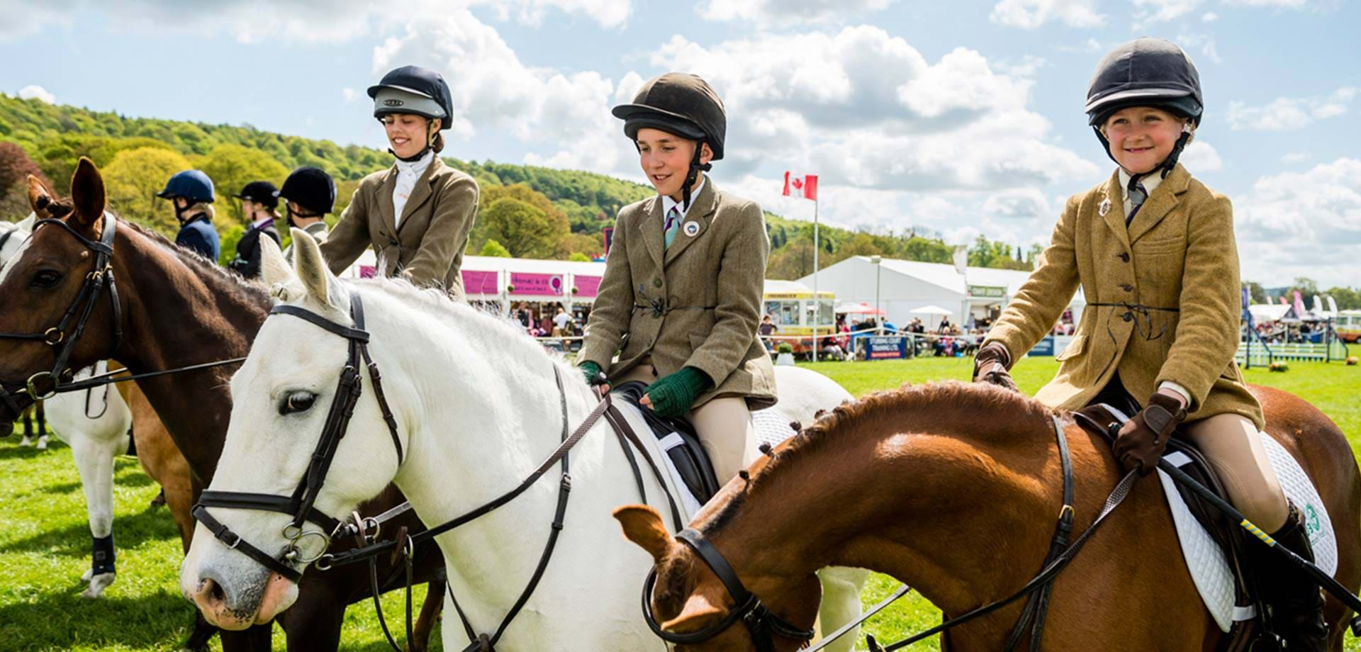 Fun For all The Family at Dodson & Horrell Chatsworth International Horse Trials  11-13 May 2018