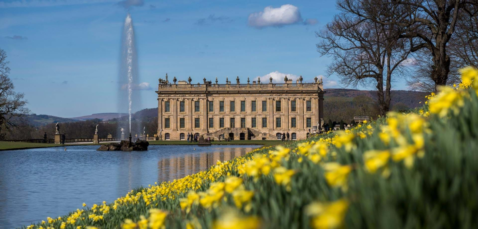 In the Chatsworth Garden: Springing to life